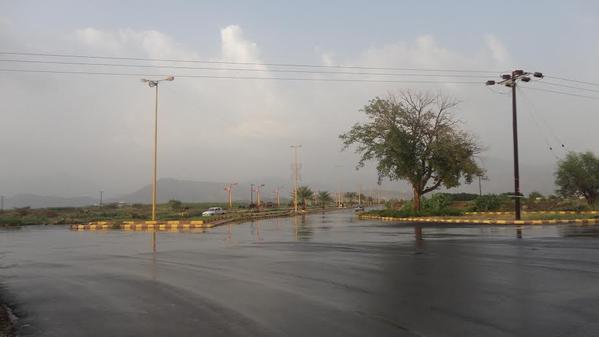 """""""الخوبة"""".. مدينة المطر ومعشوقة الغيم وواجهة السياحة"""