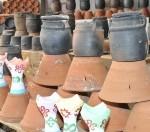 الأواني الفخارية بجازان تجارة عريقة تزدهر قبيل شهر رمضان المبارك